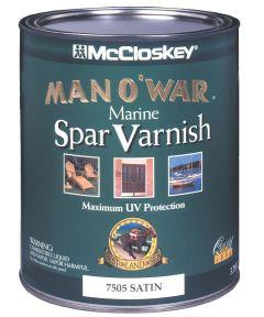 1 Quart Satin Man O ft. War Marine Spar Varnish