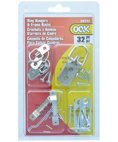 OOK Zinc Ring Hanger and Frame Back Kit