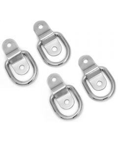 4 Pack Surface Mount Tie Down Ring