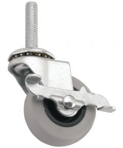 2 in. Rubber Swivel Caster
