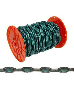 Straight Coil Chain, 2/0, 520 lb, Low Carbon Steel (Sold Per Foot)