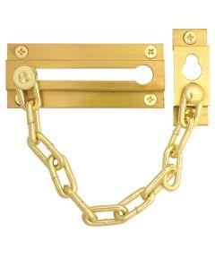 Brass Chain Door Guard