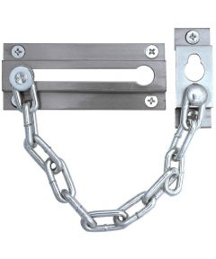 Chrome Finish Chain Door Guard