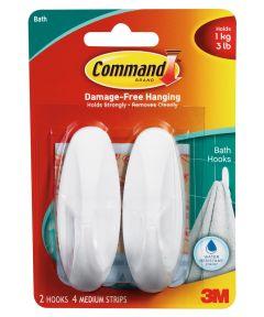 Medium Command Designer Hooks 2 Count