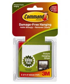 Medium Command Picture Hanging Strips