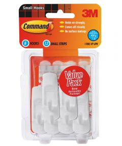 Small Command Hooks Value Pack 6 Count