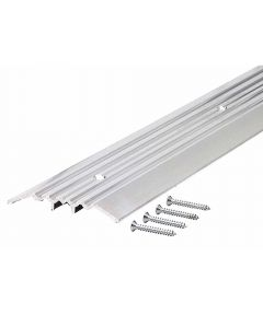 36 in. Aluminum Heavy Duty Commercial Fluted Top Threshold