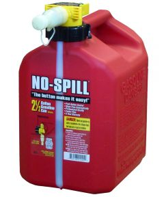 2-1/2 Gallon Red Poly Gas Can
