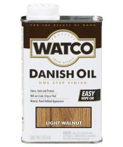 WATCO Danish Oil, Pint, Light Walnut