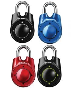 Set Your Own Speed Dial Combination Lock Assorted Colors
