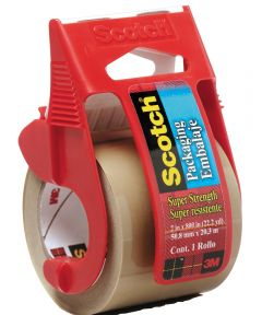 2 in. x 800 in. Tan Scotch Packaging Tape