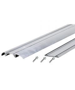 3 in. x 3/4 in. x 36 in. Low Boy Thresholds With Vinyl Seal Aluminum