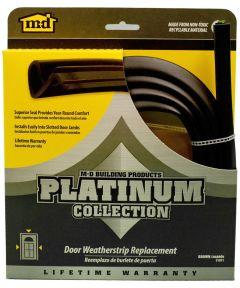 84 in. Brown Platinum Collection Replacement Door Weatherstrip