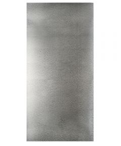 1 ft. x 2 ft. Silver Galvanized Steel Hobby Sheet