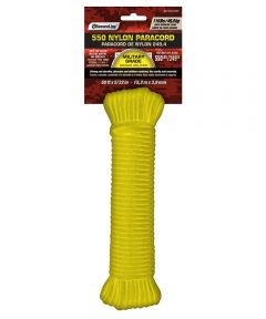 5/32 in. x 50 ft. Yellow Nylon Paracord
