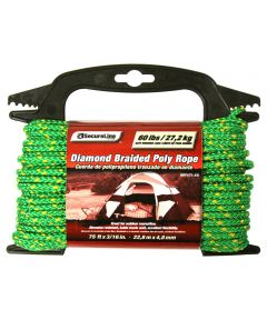 3/16 in. x 75 ft. Polypropylene Braid Rope Assorted Colors
