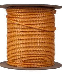 1/4 in. Yellow Polypropylene Wellington Twisted Rope (Sold Per Foot)