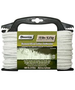 3/16 in. x 100 ft. Cotton Clothesline