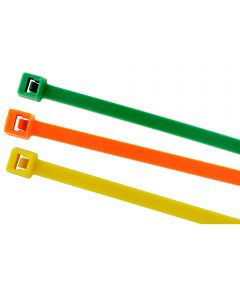 7.5 Cable Ties Assorted Colors 100 Count