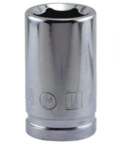 11MM x 3/8 in. Drive 6 Point Socket