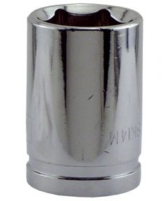 14MM x 3/8 in. Drive 6 Point Socket
