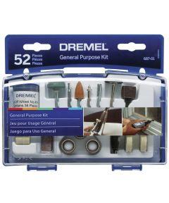 Dremel 52 Piece Set General Purpose Accessory Kit