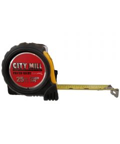 City Mill Logo 25 ft. Tape Rule