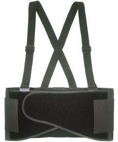 Heavy Duty Back Support Belt, Medium, 32 - 38 in Waist, Black