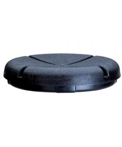 EasySeat Bucket Seat, For Use With 3-1/2 to 5 gal Bucket, Plastic, Black