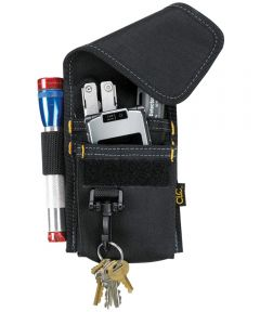 Multi-Purpose Tool Holder, 4-1/4 in. (W) x 7-1/4 in. (H), Polyester Fabric, Black