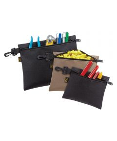 Tool Works Clip On Multi-Purpose Tool Bag, Polyester Fabric