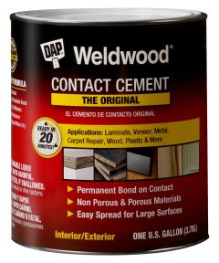 1 Gallon Tan WeldWood Original Contact Cement