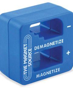 2 in. x 2 in. x 1 in. Blue Magnetizer & Demagnetizer