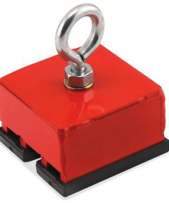 Red Heavy Duty Magnetic Hold & Retrieving Base