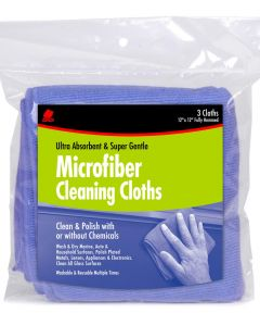 Microfiber Cleaning Cloths 3 Count