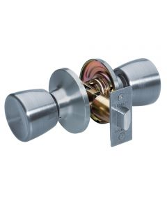 Master Lock Tulip Passage Entry Door Knob, Satin Nickel