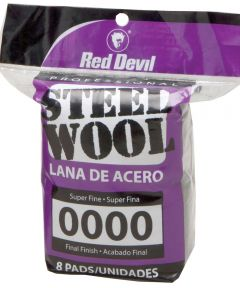 #0000 Steel Wool 8 Pack
