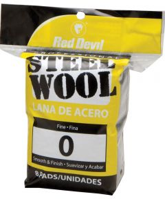 #0 Steel Wool 8 Pack