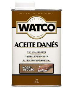 WATCO Danish Oil, Pint, Dark Walnut
