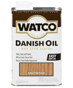 WATCO Danish Oil, Quart, Fruitwood