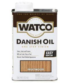 WATCO Danish Oil, Pint, Fruitwood