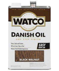 WATCO Danish Oil, 1 Gallon, Black Walnut