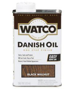 WATCO Danish Oil, Pint, Black Walnut