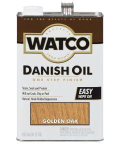 WATCO Danish Oil, 1 Gallon, Golden Oak