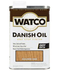 WATCO Danish Oil, Quart, Golden Oak