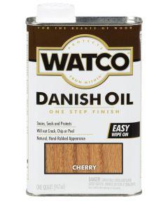 WATCO Danish Oil, Quart, Cherry