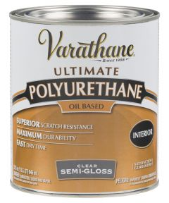 Varathane Premium Polyurethane, Quart, 6041 - Semi-Gloss