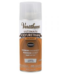 Varathane Premium Polyurethane, 11 25 oz Spray Paint, 9181 - Satin