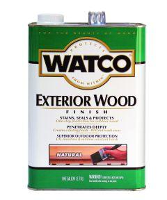 WATCO Exterior Wood Finish, 1 Gallon, Natural