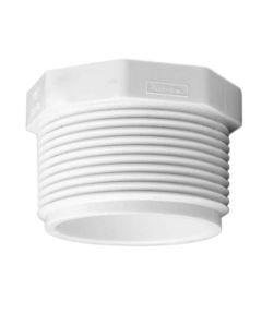 1/2 in. PVC Plug, MIP